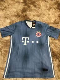 Camisa Bayern Munique Third III 18/19 - Azul
