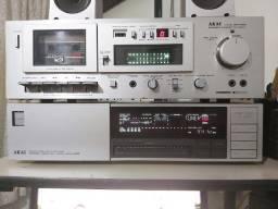 Deck Akai GX m10 Receiver Akai AA A35 - Tuner cce ST 130 Ampl cce sa 4040