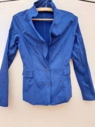 Blazer Azul Nunca Usado - Bem Conservado Sem Nenhum Defeito