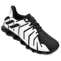 Tênis Adidas Springblade elimited Masculino - Branco e Preto