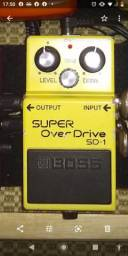 Pedal super overdrive Boss