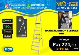 Escada Aluminio 8 Degraus