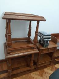 4 mesas de cabeceira