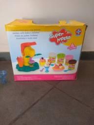 Brinquedos de massinha Sorveteria e Tortas