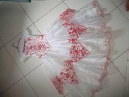 Vendo vestido de festa usado