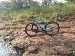 Bicicleta Aro 29, 21v, Freios a discos hidráulicos. Valor negociável