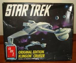 Star Trek Klingon Cruiser Para Montar