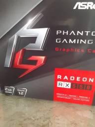 Placa de vídeo RX 550 2Gb/128bits Dvi HDMI  Nova lacrada