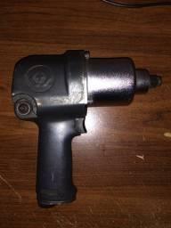 Chave Parafusadeira de Impacto com Encaixe de 1/2 Pol. Profissional - Semi nova