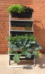 Horta Vertical, plante em casa ou apartamento