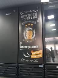 Cervejeira porta cega Happy Hour  454 litros  - Gizelle