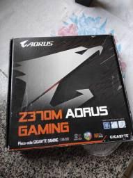 Z370 m aorus gamer pra sair hoje 400 rais