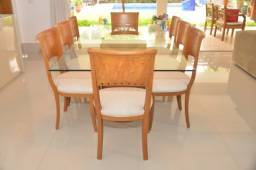 Mesa de Jantar Mazotti com 8 lugares