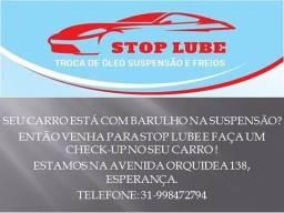 Stop Lube Troca de Óleo Suspensão e Freios!