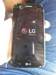LG k10 32Gb. Display quebrado