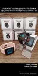 Smart Watch D20 Bracelet Sports, Troca Pulseira para Android e IOS