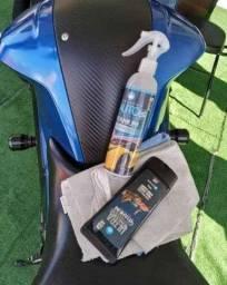 Kit - Auto protection Titanium para cristalização + Ultra Finish para peças plasticas.