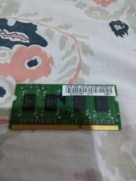 Memória DDR3  2 giga de notebook r$ 20 reais