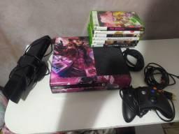 Xbox 360 Super Slim Personalizado Lindo Completo - Ac cartão