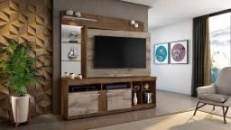 Home Office Brasil com Suporte de TV incluso para TV de 56'' - Entrega Grátis