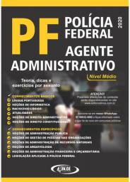 Apostila Agente Administrativo PF (Polícia Federal) esquematizada 2020 - Impressa