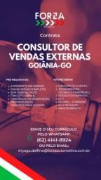 Contrata Consultor de Vendas Externos - Goiânia