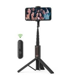 Pau de selfie / tripé BlitzWolf BW-BS10 com controle Bluetooth
