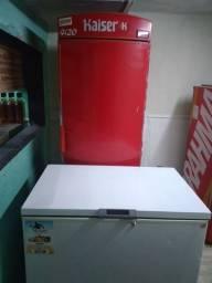 Vendo uma geladeira e um freezer