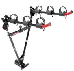 Suporte transbike bola v de rosca para 03 bicicletas, suporte para placa.