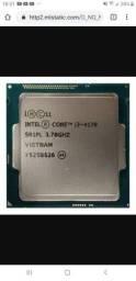 Processador i3 4170 3.7 ghz. 1150