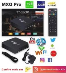Converso Receptor Smart Tv Box Mxq Pro 4k 5g 32 Gb e 4 Gb Ram