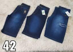 Bermudas Jeans para revenda