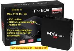 Tv box MXQ 4GB/64GB. Promoção !!!!!!!!
