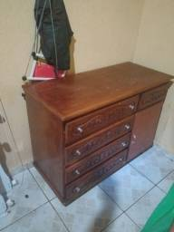 Cômoda de madeira legítima valor R$200