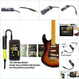 Live irig Adaptador de Guitarra baixo Multimídia Para Iphone Ipad Ipod.