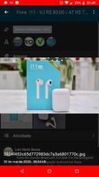 Fone De Ouvido Bluetooth 5.0 Sem Fio RecarregávelMicrofone Android touch i11 Tws Original