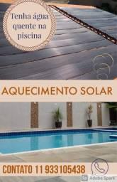AQUECIMENTO SOLAR PISCINA