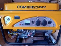 GERADOR ENERGIA CSM GM8000E 9KVA MONOFÁSICO / BIVOLT<br><br>