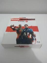 Box Marvel ? MCU Fase 1 ? 6 filmes ? R$ 60,00