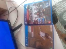 Troco pes19 e assassins Creed PS4