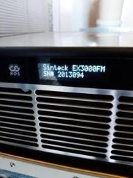 Transmissor de FM Sinteck 3.000 wats com Telemetria