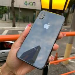 IPhone XS 64GB cinza espacial vitrine top