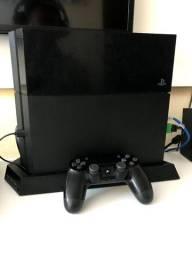 PS4 FAT 500gb com 12 jogos