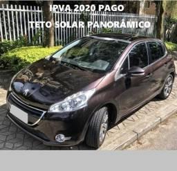 Peugeot Top + Teto Panorâmico + Multimídia, preço de carro popular !