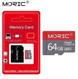 Cartao de memoria Micro SD 64Gb - Classe Cartão 10 TF