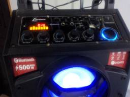 Vende-se cx de som Lenox 500W. Valor R$-600,00