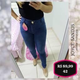Calça jeans 3% elastano