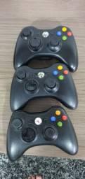 Controles  originais xbox 360 perfeitos  Original   100 reais cada