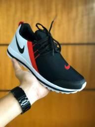 Nike preto com branco 38 ao 43