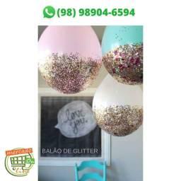 Balão de Glitter